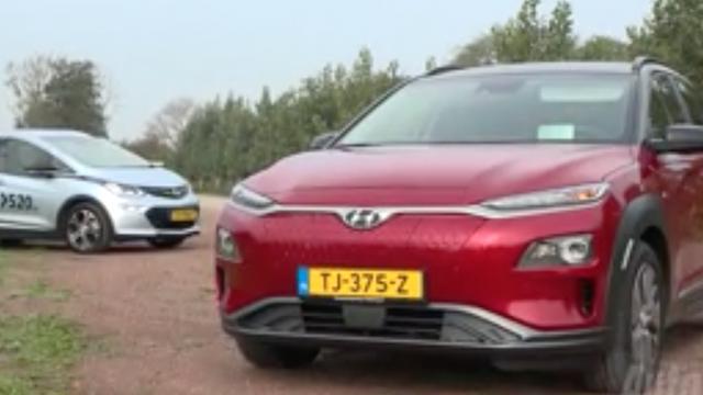 Eerste dubbeltest: Hyundai Kona Electric tegen de Opel Ampera-e