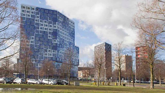 655 kamers in de verhuur in nieuw studentencomplex op Uithof