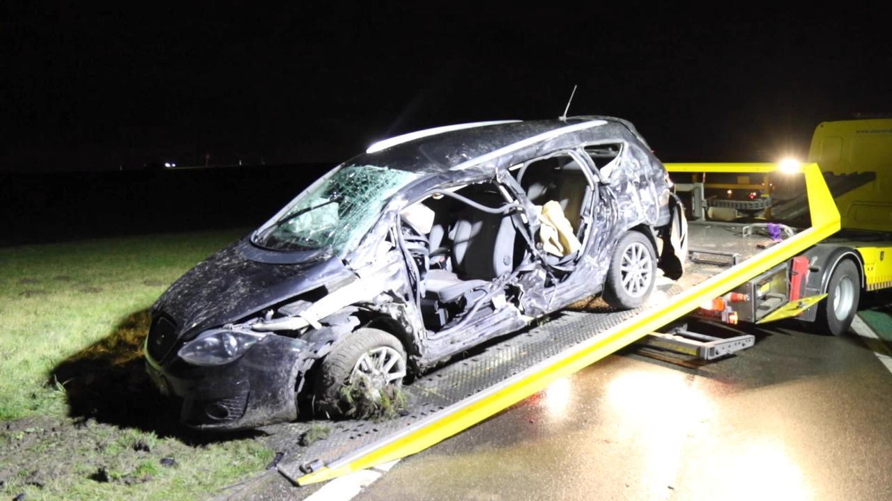 Ongeval met dodelijke afloop op N59 bij Oude-Tonge
