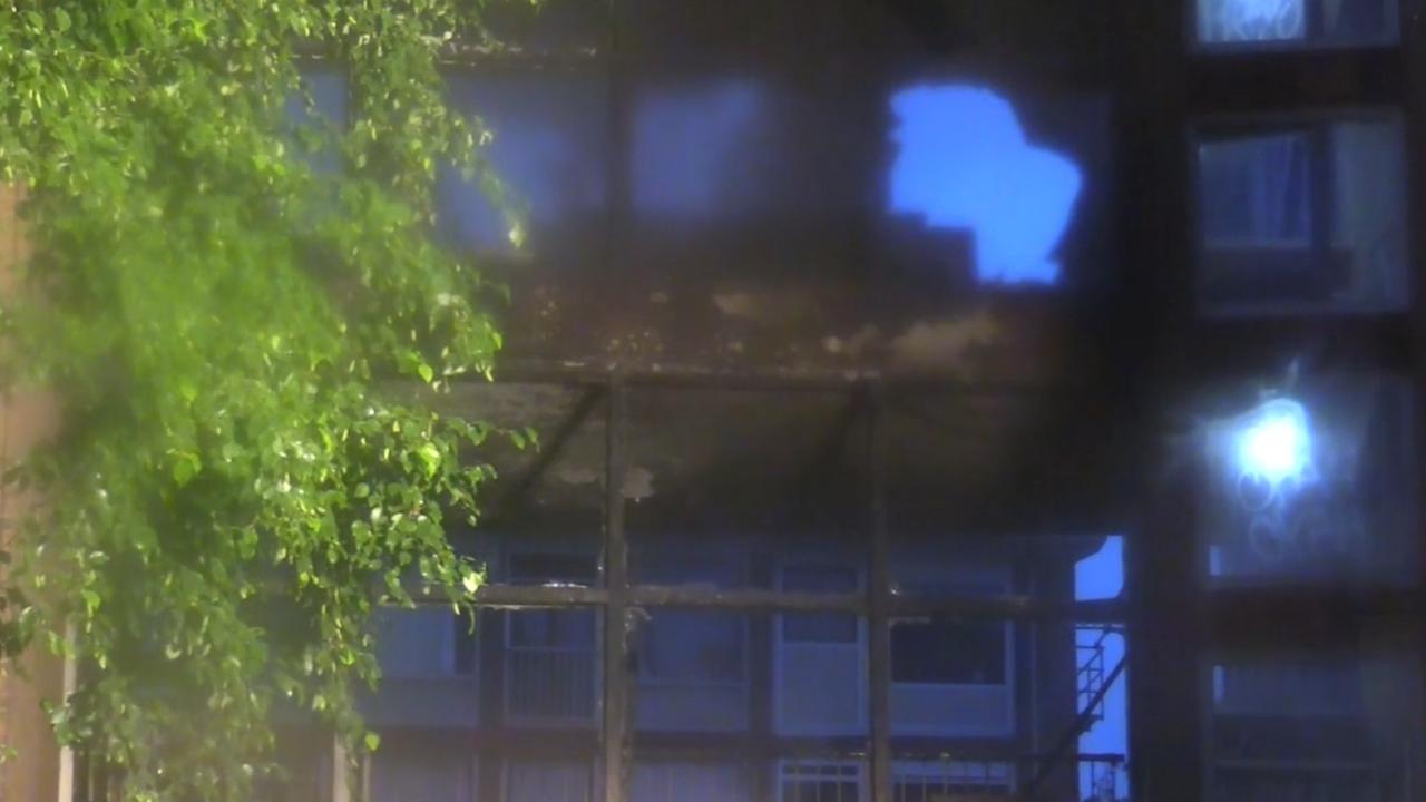 Studentenflat Utrecht ontruimd vanwege brand