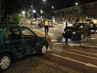 Twee mensen raakten gewond