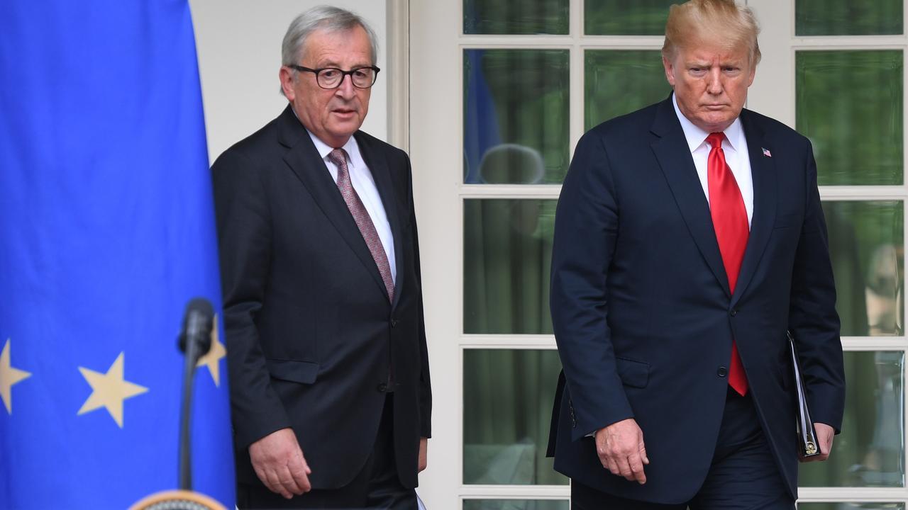 Handelsoorlog VS en EU lijkt afgewend na akkoord Trump en Juncker