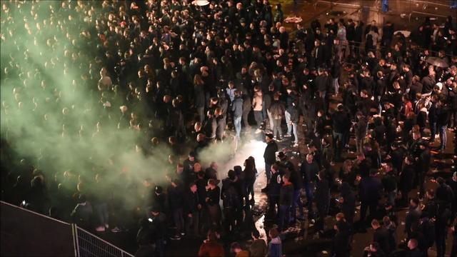 Zeven arrestaties bij Willem II-feest Tilburg, maar niet wegens coronaregels