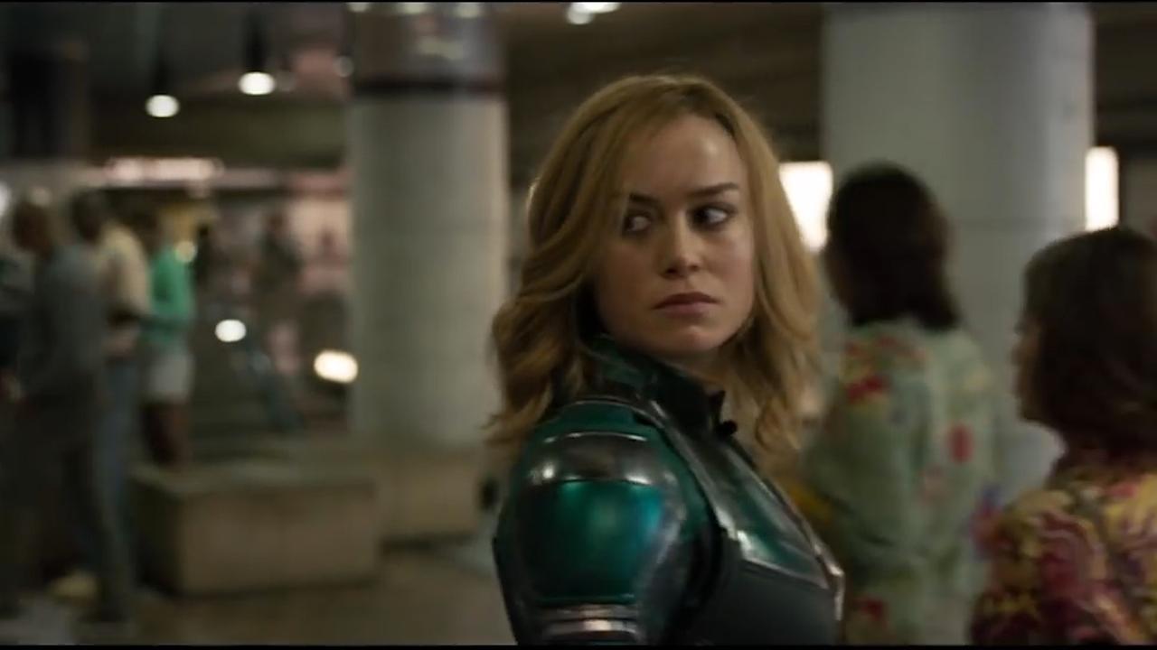Brie Larson te zien als superheld uit de ruimte in trailer Captain Marvel