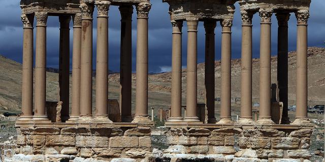 IS vernietigt Romeinse oudheden in Syrische stad Palmyra