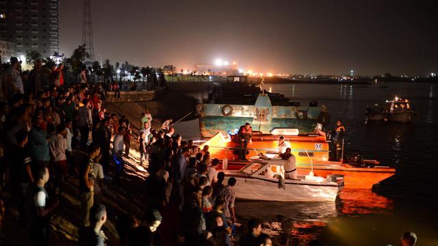 Dodental scheepsbotsing Egypte loopt op