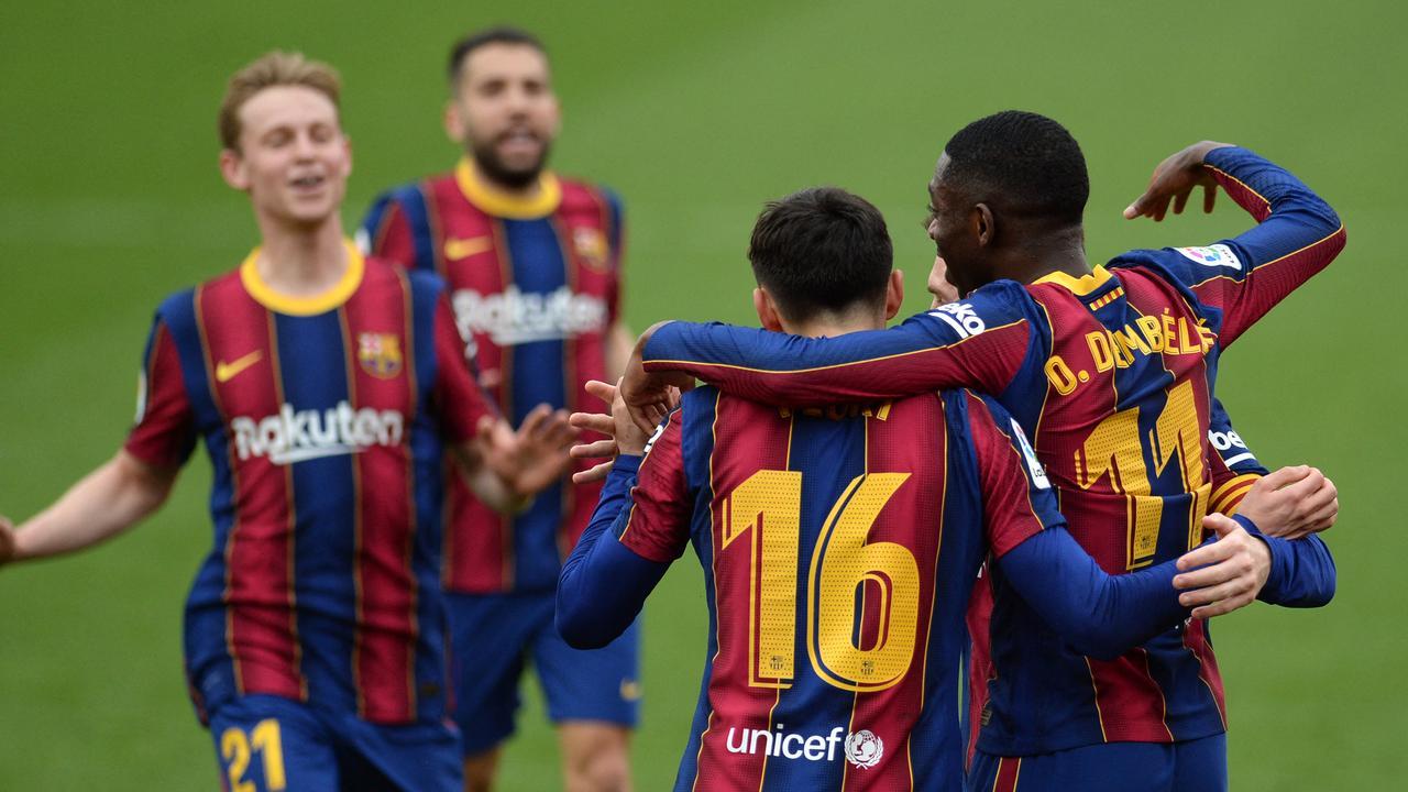 FC Barcelona klopt Sevilla en komt op twee punten van koploper Atlético - NU.nl