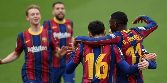 'Barça' komt op twee punten van koploper Atlético, averij Juventus in Serie A