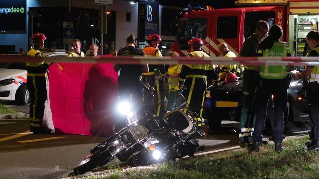 Motorrijder raakt ernstig gewond bij ongeval Ettensebaan