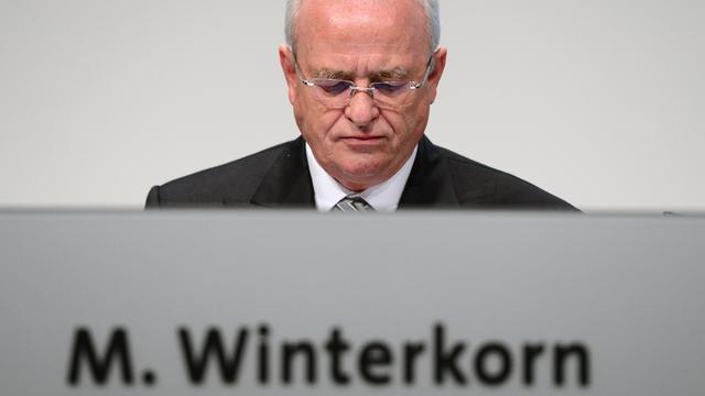 Duitse openbaar aanklager onderzoekt oud-VW-topman Winterkorn om fraude