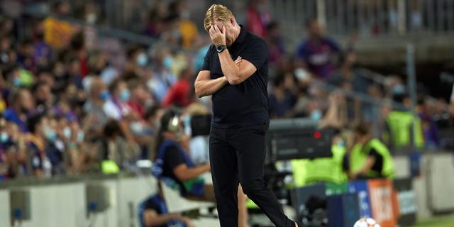 Koeman blij dat fans begrip tonen: 'Bayern duidelijk veel sterker dan wij'