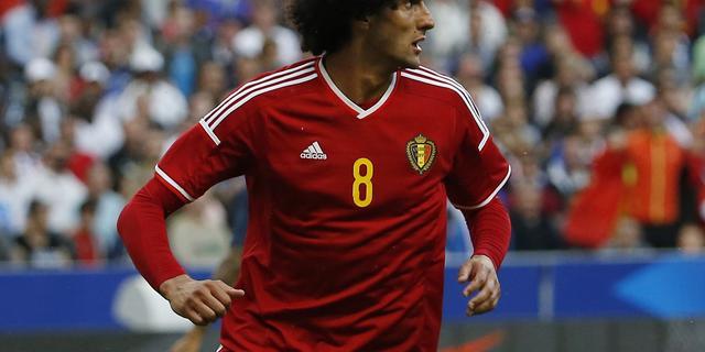 België moet Fellaini missen in EK-kwalificatieduel met Wales