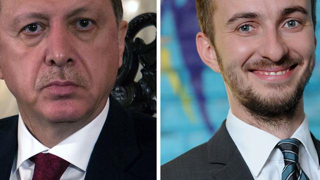 Gedicht over Erdogan van Duitse komiek blijft deels verboden