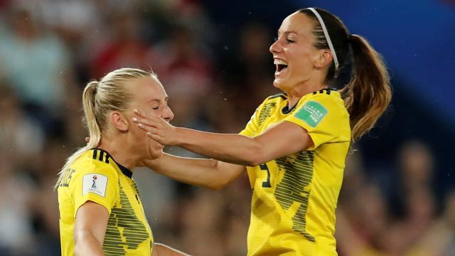 Zweden als vijfde Europese land naar kwartfinales WK vrouwen
