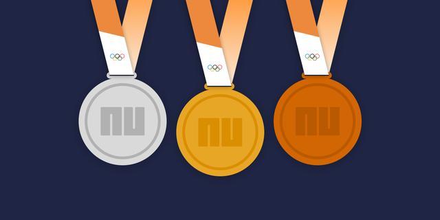 Bekijk de medaillespiegel met Nederland op een knappe zevende plaats
