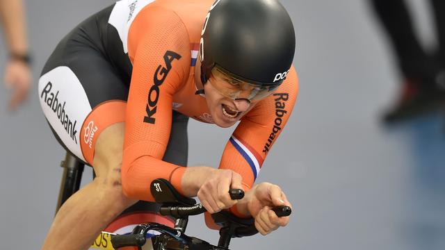 Theo Bos en Hoogland uitgeschakeld op sprint bij WK