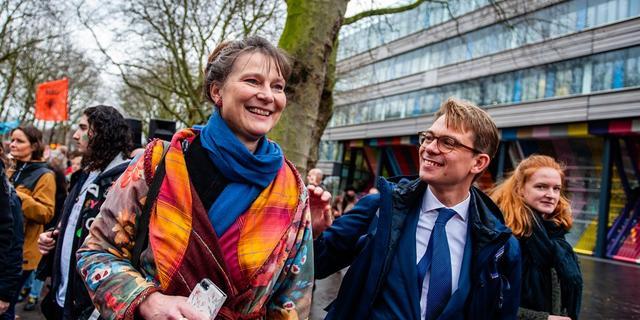 Lopend van Groningen naar de klimaattop in Glasgow: 'De turbo moet erop'