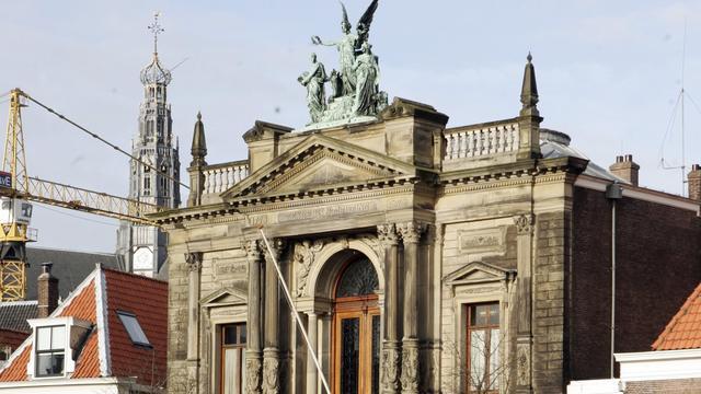 Ovale zaal van Teylers Museum is nu Nationaal Chemisch Erfgoed