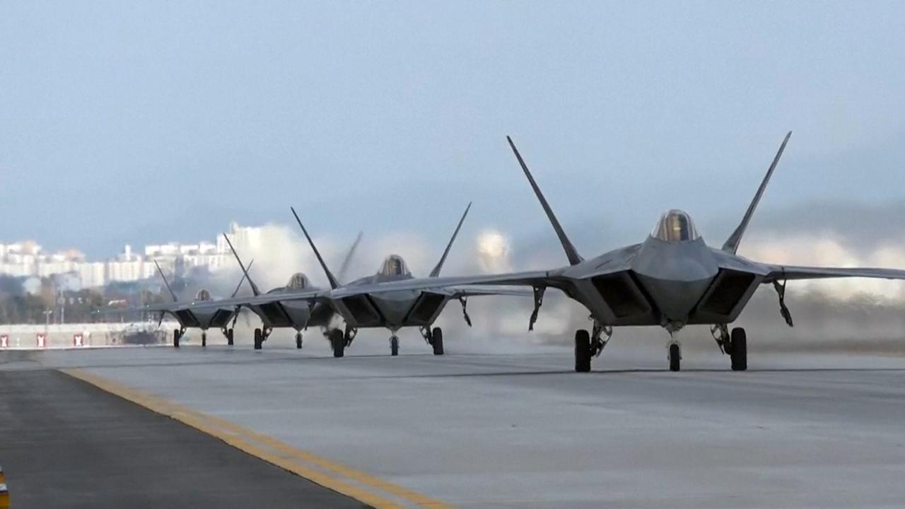 Zuid-Korea en VS ensceneren aanval op Noord-Korea in oefening
