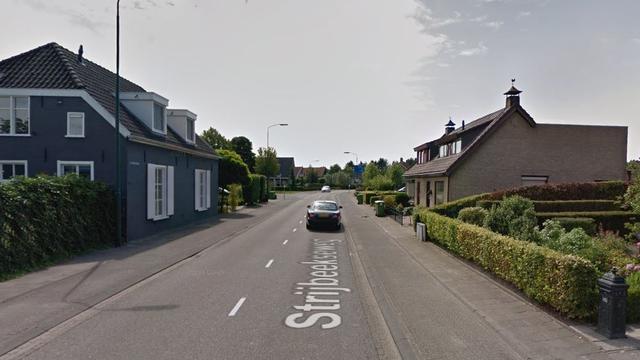 Gewonde na botsing tussen twee auto's op Strijbeekseweg in Ulvenhout