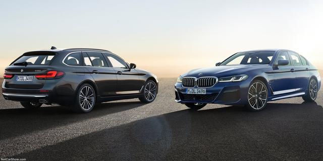 BMW 5 en 6 Serie opgewaardeerd met ander uiterlijk en verbeterde motoren