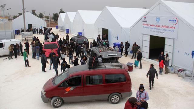 'Aantal vluchtelingen Oost-Aleppo stijgt naar vijftigduizend'