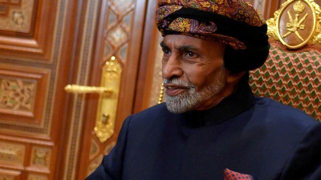 Sultan Qaboos (79) van Oman overleden, neef benoemd als opvolger