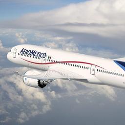 AeroMexico-piloten willen Amsterdam zien met lage vlucht, Schiphol zegt nee