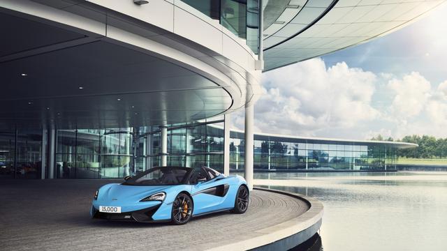 McLaren Automotive bereikt productiemijlpaal