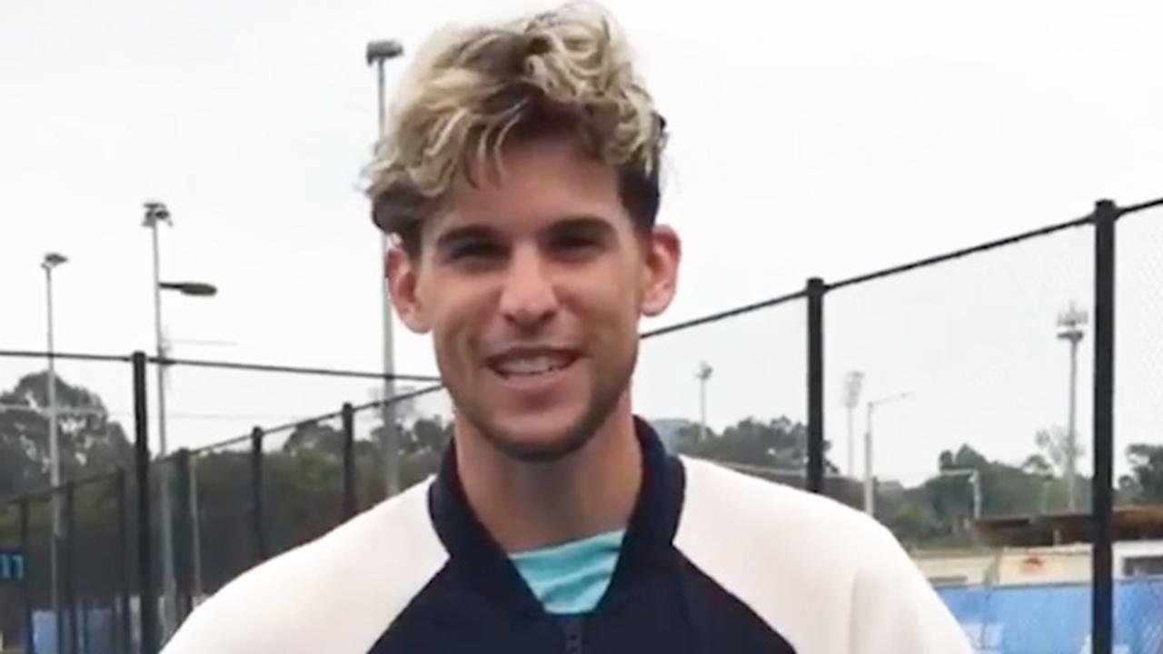 Thiem gaat uitdaging van Ajax aan en houdt tennisbal hoog