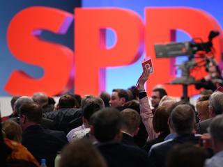Partijleider Martin Schulz vroeg leden om goedkeuring