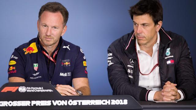 Horner wacht tot Mercedes coureurscaroussel van Formule 1 in gang zet