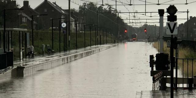 Onweersbuien breken stokoud record: 87,2 millimeter neerslag in Maastricht