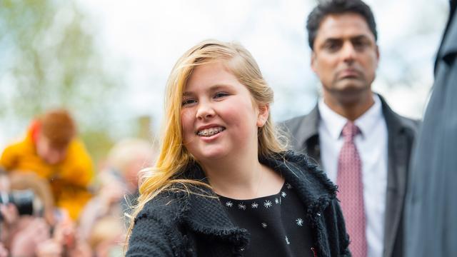Prinses Amalia Viert Woensdag Dertiende Verjaardag Nu Het