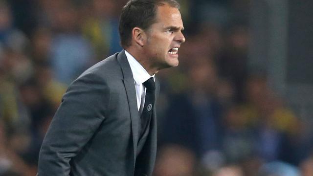 De Boer beseft dat Ajax cruciaal thuisduel met Fenerbahçe wacht
