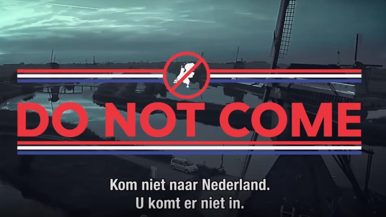 Zondag met Lubach: 'Kom niet naar Nederland'