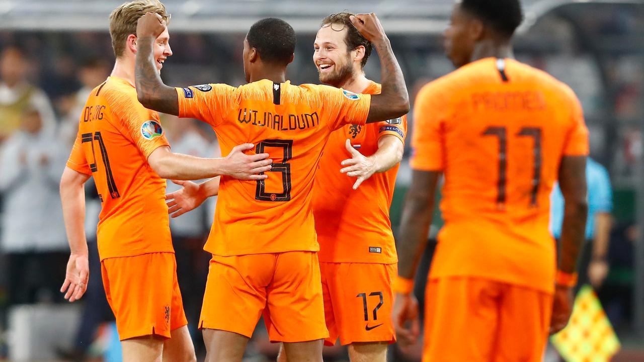 Wijnaldum leidt Nederlands elftal naar moeizame zege op Wit-Rusland