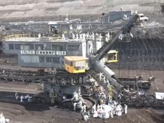 Actievoerders bezetten onder meer een spoorlijn van energiemaatschappij