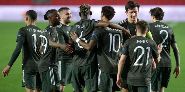 United dicht bij halve finales EL na zege op Granada, Arsenal-Slavia gelijk