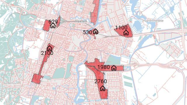 Waar bouwt het overvolle Haarlem nog tienduizend woningen?