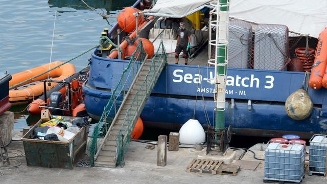 Akkoord over herverdeling van migranten op schip Sea-Watch 3