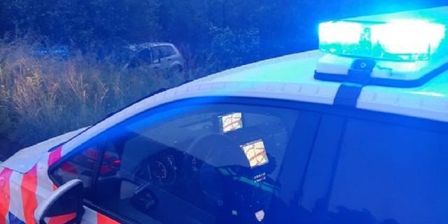 A28 uren afgesloten na politieachtervolging, verdachte uit auto gesprongen