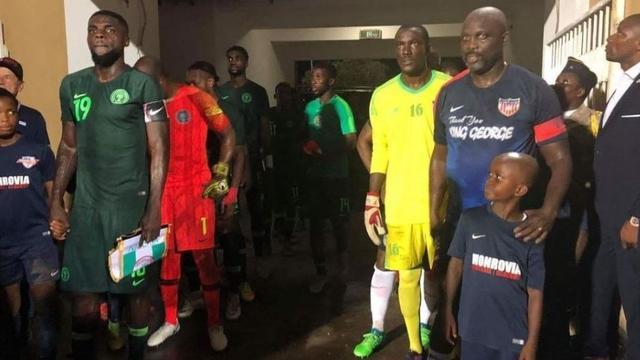 Liberiaanse president Weah (51) speelt mee in interland tegen Nigeria