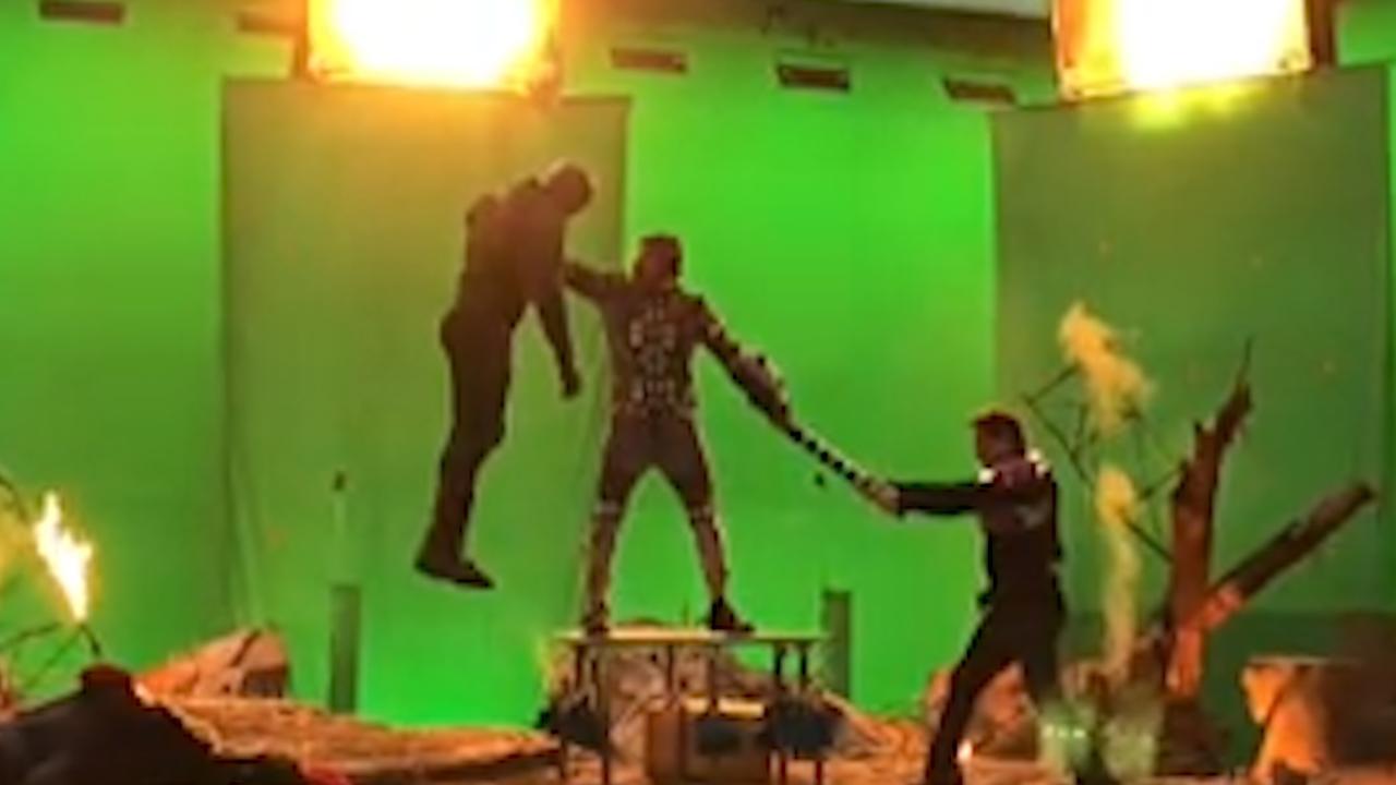 Avengers-acteurs geven voor het eerst kijkje achter de schermen