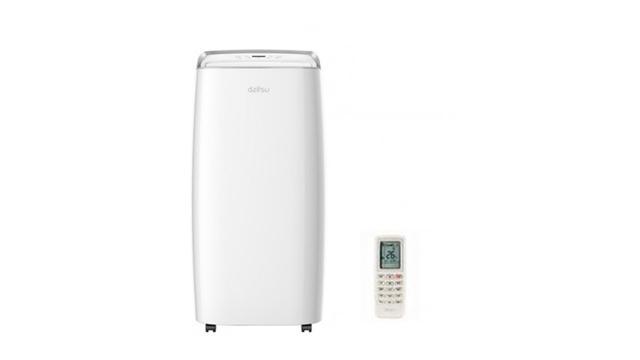 De mobiele airco verbruikt veel meer energie dan een splitairco.