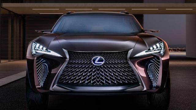 In detail: Lexus UX Concept