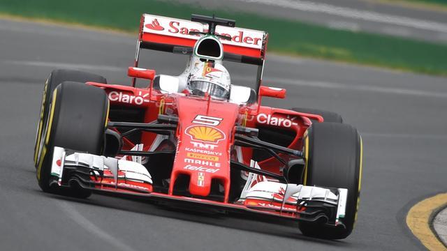 Ferrari test bredere banden voor 2017