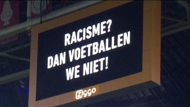 Eredivisie-clubs leggen wedstrijden één minuut stil tegen racisme