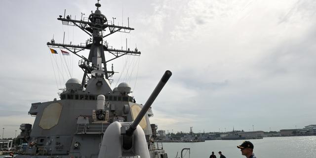 Schip VS provoceert China, Taiwan en Vietnam in Zuid-Chinese Zee
