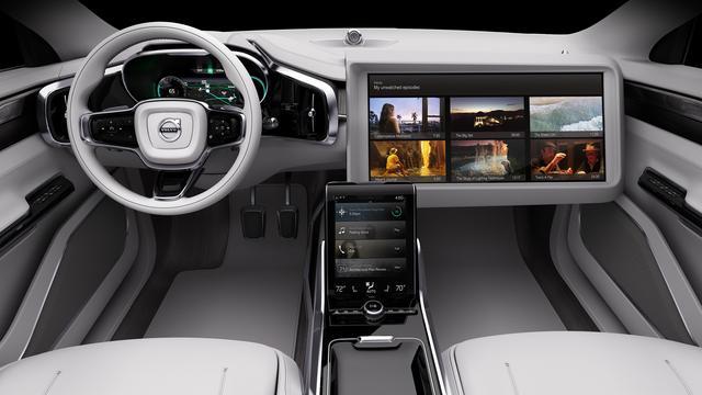 Volvo komt met slim streamingplatform voor in de auto